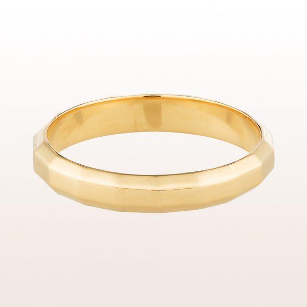 """Ring """"Aurum Charts"""" in 18kt Gelbgold von Designer Klemens Schillinger"""