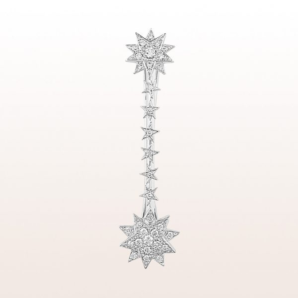 """Hairpin """"Marie Valerie"""" with brilliants 0,86ct in 18kt white gold"""
