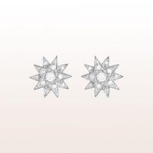 """Ohrstecker """"Gisela"""" mit Brillanten 0,40ct in 18kt Weißgold"""